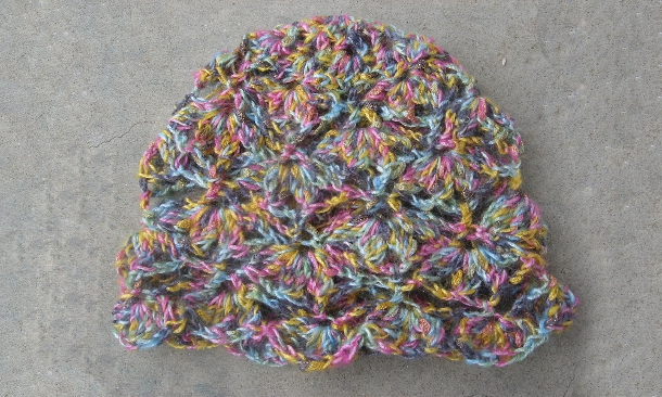 Spring Blossom Hat by Kim Driggs