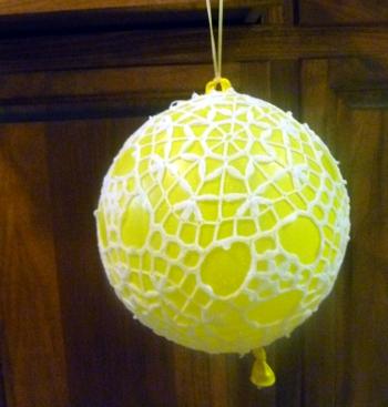 Lacey Japanese Lantern by Julia Schwartz