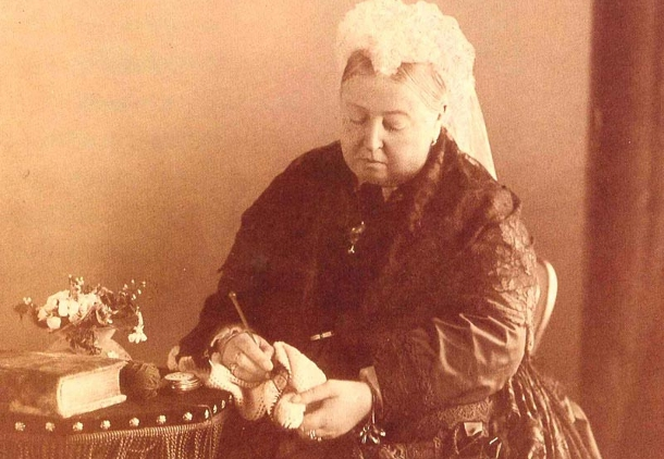 Crocheting History : Crochet in History: Queen Victoria