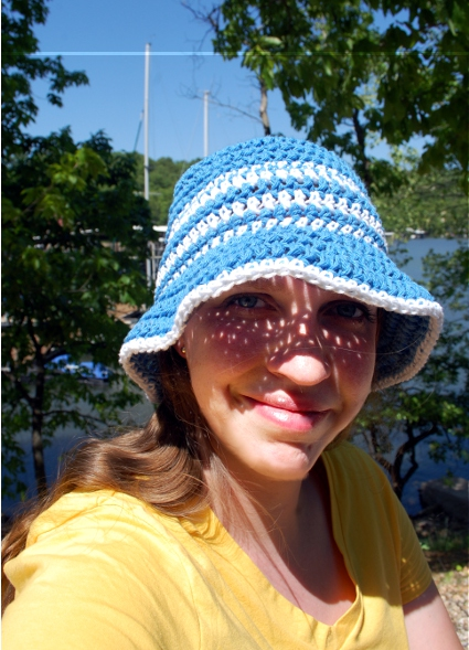 Yacht Club Sunhat by Melissa Mall