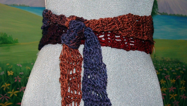Ziggety Scarf by Cheri McEwen