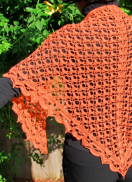 Fritillary Shawl by Aparna Rolfe