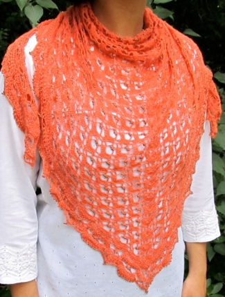 Fritillary Shawl by Aparna Rolfe