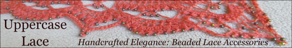 Uppercase Lace. Handcrafted Elegance: Beaded Lace Accessories