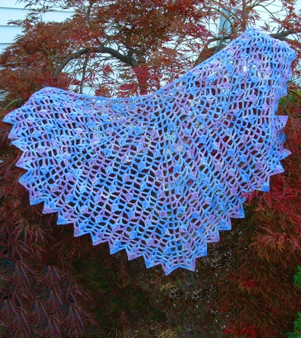 Butterflies Shawl by Cheri McEwen