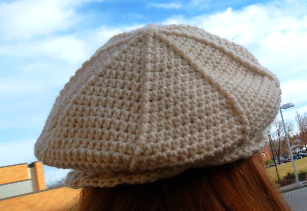 Angel Beret by Bonnie Irene