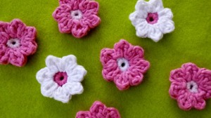 Spring Blossom Hair Clips by Darlene Hopkins