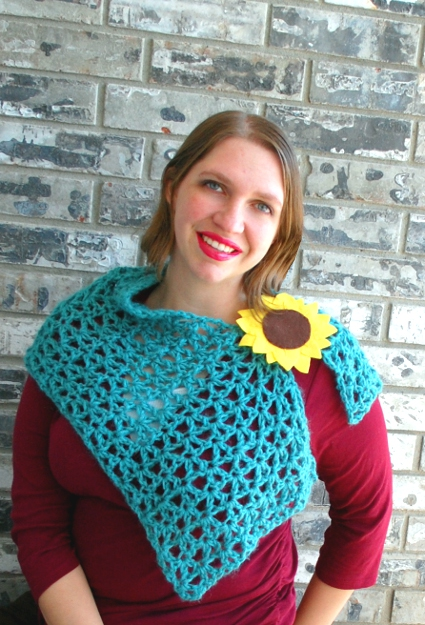 Chicory Shoulder Wrap by Melissa Mall