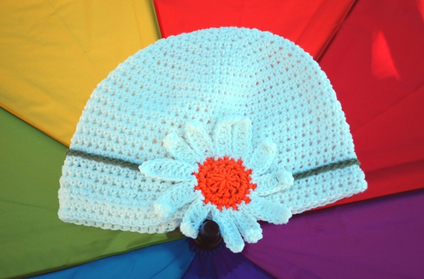 Rainy Daisy Cloche by Melissa Mall