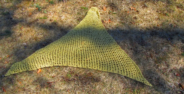 Summer Triangles Shawl by Anastacia Zittel