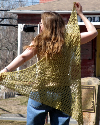 Summer Triangles Shawl by Anastacia Zittle