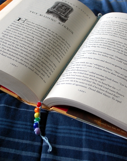 Summer Reading Bookmark by Melissa Mall