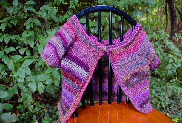Violets Cardi by Melissa Mall