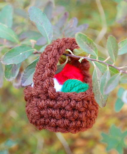 Yarn Basket Ornament by Melissa Mall