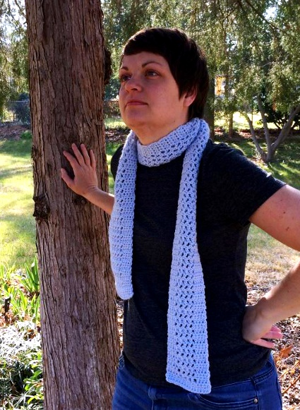 Airy Scarf by Christine Henley