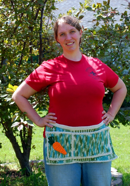 Green Thumb Garden Apron by Melissa Mall
