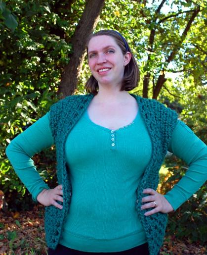 Bonfire Vest by Melissa Mall